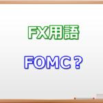 FOMCとは?|FX初心者が知っておくべきFX用語集