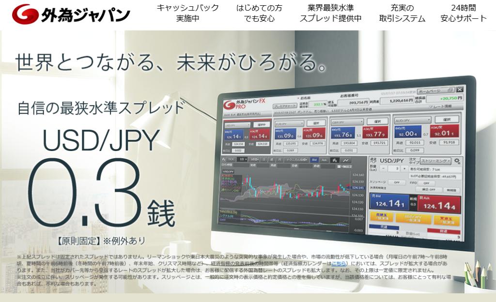 外為ジャパンのチャート