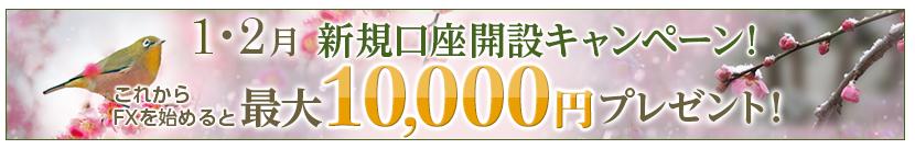 1万円のキャッシュバックキャンペーン